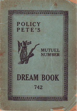 Policy Pete's Dream Book (1933) – Digital Harlem Blog