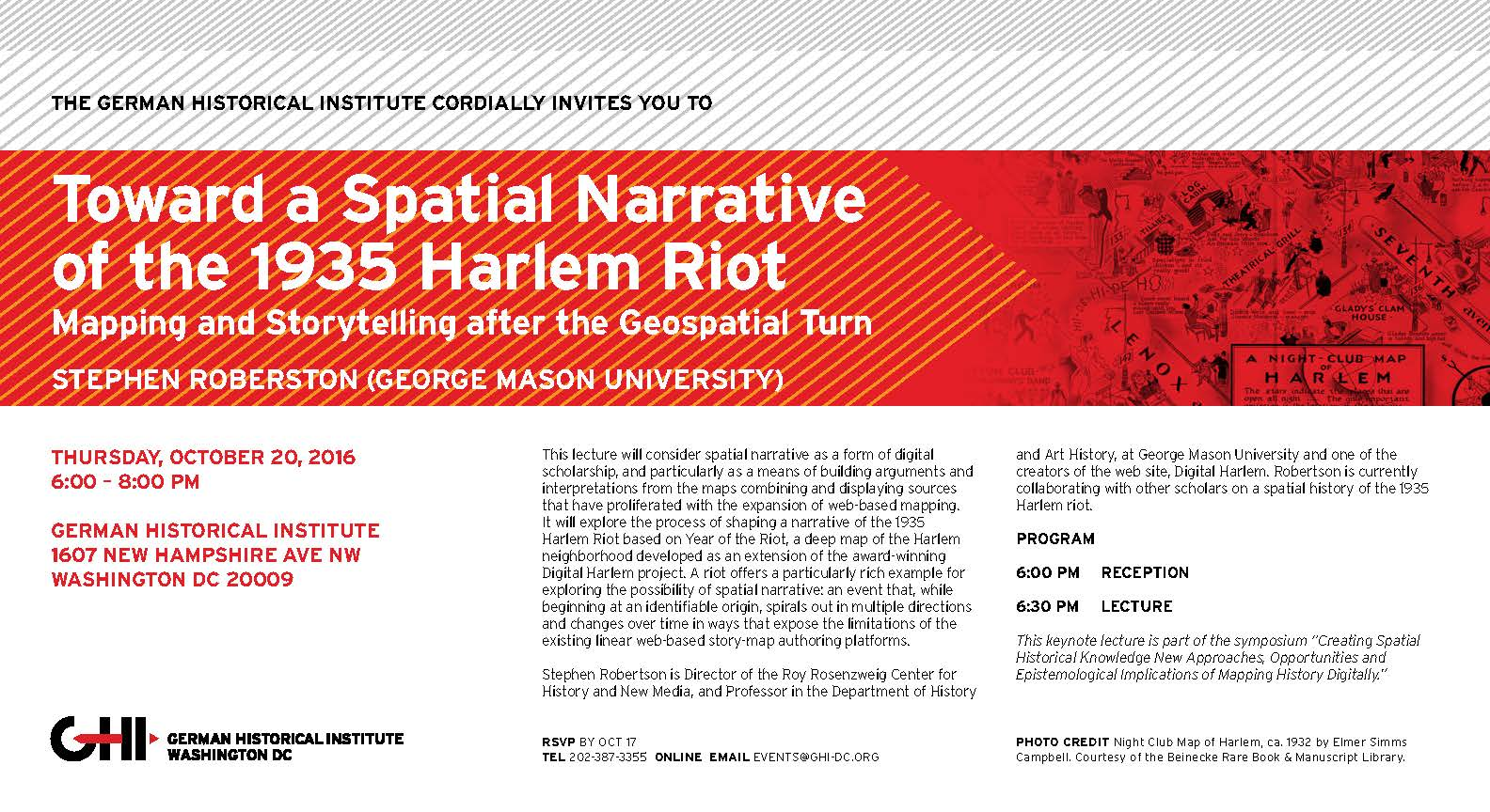 Toward a Spatial Narrative of the 1935 Harlem Riot